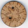 BS028 - Bouton Feuille d'érable