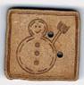 BS050 - Bouton Bonhomme de neige