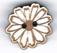 BS202 - Bouton mini fleur marguerite