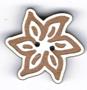 BS204 - Bouton fleur edelweiss