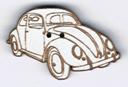BT203 - Bouton voiture Coccinelle