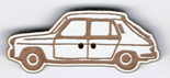 BT211 - Bouton voiture Simca