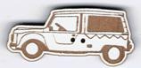 BT212 - Bouton  voiture Méhari