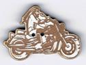 BT222 - Bouton moto biker