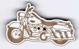 BT225 - Bouton moto harley