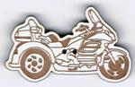 BT226 - Bouton moto Goldwing