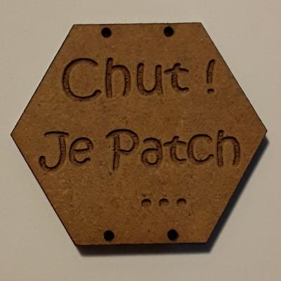 BX101- Chut ! Je Patch ...