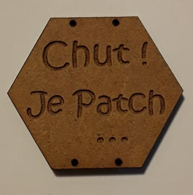BX101- Chut ! Je Patch ...
