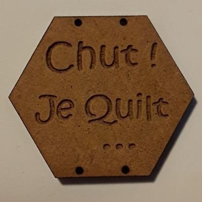 BX102- Chut ! Je Quilt