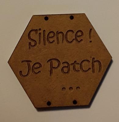 BX111- Silence ! Je Patch ...