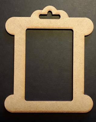 Cadre cartonette , 5x7,5 cm
