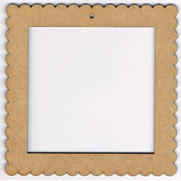CB001N - Cadre carré nature