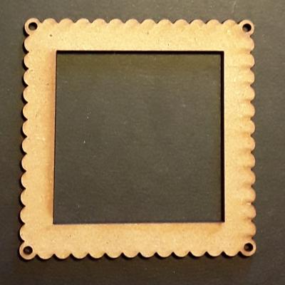 Cadre carré dentelle, 5 cm