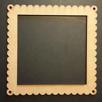 Cadre carré dentelle, 10 cm