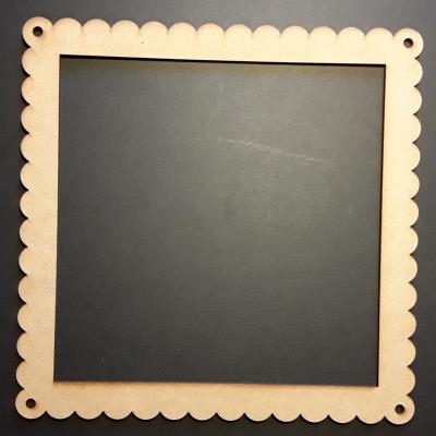 Cadre carré dentelle, 20 cm