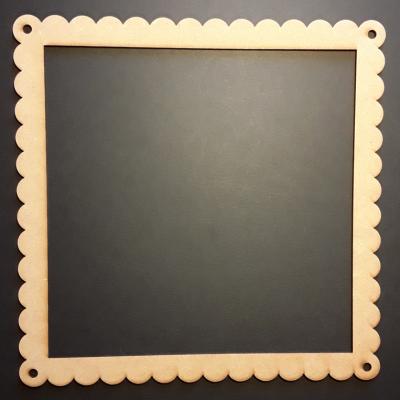 Cadre carré dentelle, 25 cm