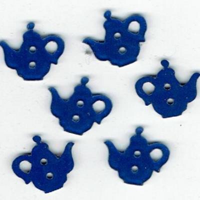 CVPL10 - Théière bleu