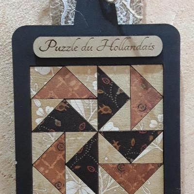 HP03-1   Puzzle du Hollandais