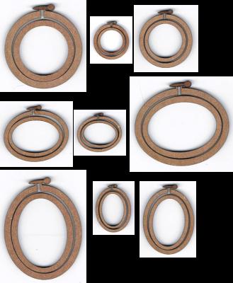 LET 001- Lot de 9 mini tambour