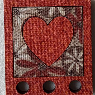MTF15 - tri fil couleur, coeur