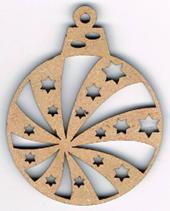 ND002N - Boule noël géométrique 2