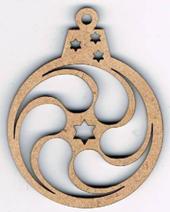 ND003N - Boule noël géométrique 3