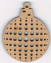 ND004N - Boule noël géométrique 4