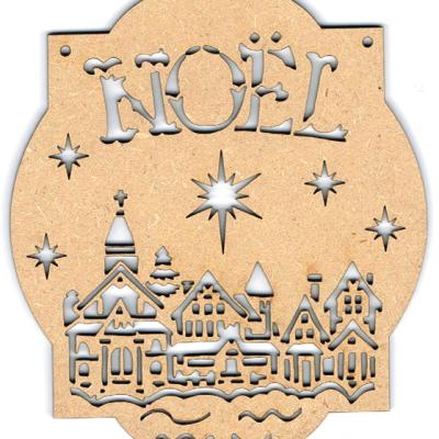 NF005N- Décoration de noël : Village