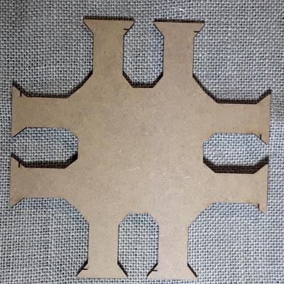 PF06 - Porte fil 8 bobines carré
