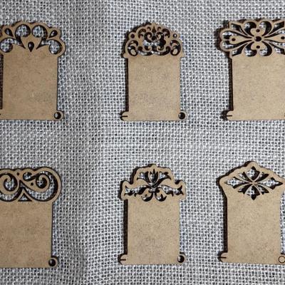 PF16 - Lot de 6 cartonettes arabesque
