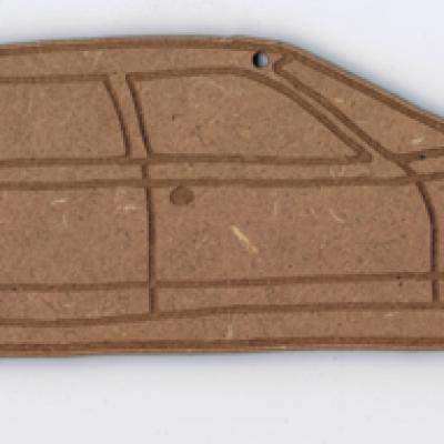 PL203 - Plaque de porte