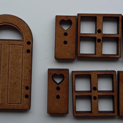 PFV01-Lot porte fenêtres volets T1