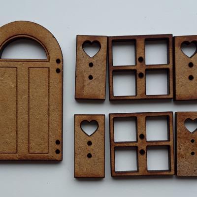 PFV02-Lot porte fenêtres volets T2