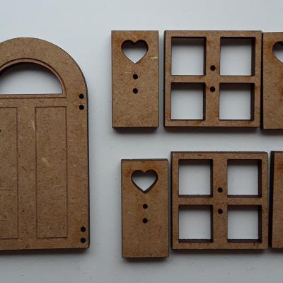 PFV03-Lot porte fenêtres volets T3