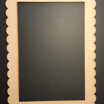 Cadre Rectangle dentelle, 20x30 cm
