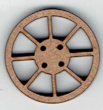 BD062 - Roue, 2,5 cm