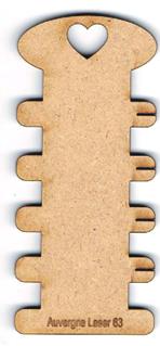 TF001N - Tri-fils echelle avec encoches