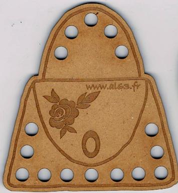TF005N - Tri-fils sac à main