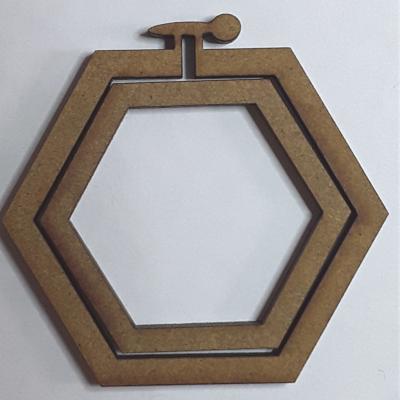Tambour hexagone grand