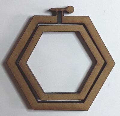 Tambour hexagone petit