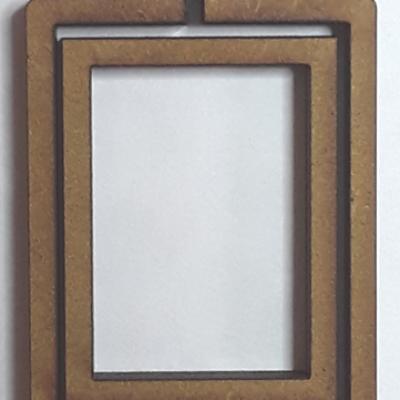 Tambour rectangle debout moyen