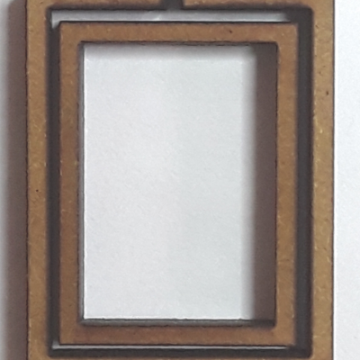 Tambour rectangle debout petit